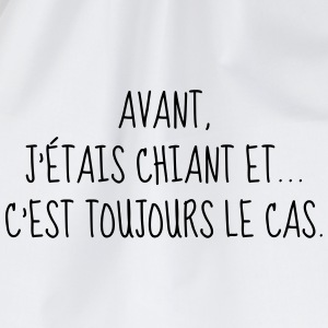 Chiant - Citation - Humour - Comique - Fun Tee shirts - Sac de sport léger