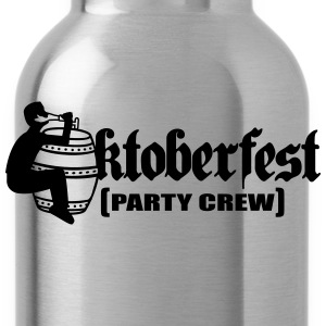 Party, crew, team, celebrate, fun, octoberfest, be T-Shirts - Water Bottle