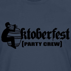 Party, crew, team, celebrate, fun, octoberfest, be T-Shirts - Men's Premium Longsleeve Shirt