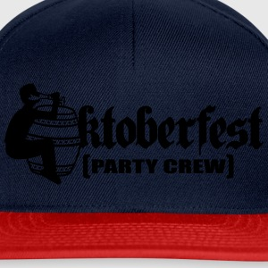Party, crew, team, celebrate, fun, octoberfest, be T-Shirts - Snapback Cap