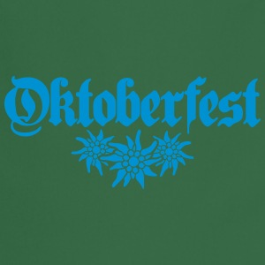 Oktoberfest, edelweiss, flower, bavaria, party, ce T-Shirts - Cooking Apron