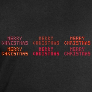 Merry Christmas of dots - Men's Sweatshirt by Stanley & Stella