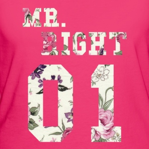 MR. RIGHT! (Partner camicia 2of2) Borse & Zaini - T-shirt ecologica da donna