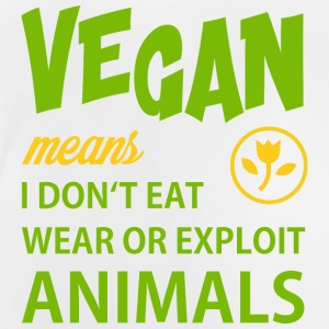 WHAT VEGAN MEANS T-Shirts - Baby T-Shirt
