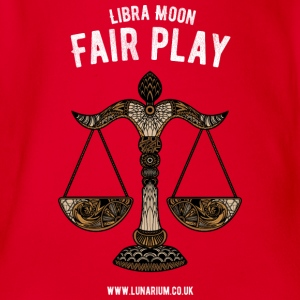Libra Moon Teenage Premium T-Shirt - Organic Short-sleeved Baby Bodysuit