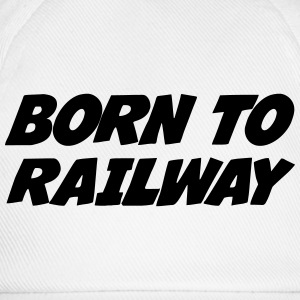 Railway Railwayman Cheminot Train Eisenbahn Shirts - Baseball Cap