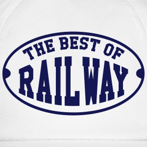 Railway Railwayman Cheminot Train Eisenbahn T-Shirts - Baseball Cap