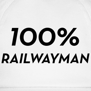 Railway Railwayman Cheminot Train Eisenbahn Mugs & Drinkware - Baseball Cap
