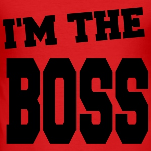 i'm the boss - Tee shirt près du corps Homme