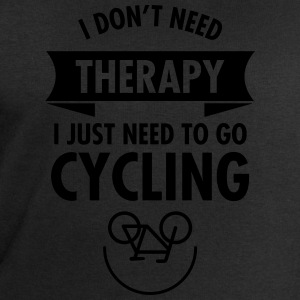 I Don't Need Therapy - I Just Need To Go Cycling Tee shirts - Sweat-shirt Homme Stanley & Stella