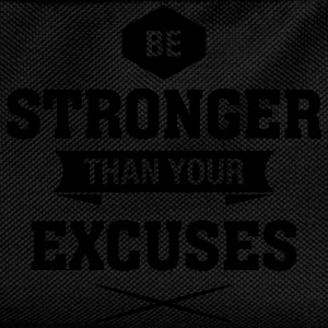 Be Stronger Than Your Excuses T-shirts - Rygsæk til børn