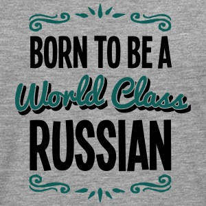 russian born to be world class 2col - Men's Premium Longsleeve Shirt