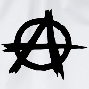 A Symbol (Anarchy) T-Shirts - Drawstring Bag