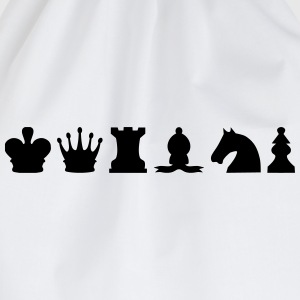 Chess Pieces T-Shirts - Drawstring Bag