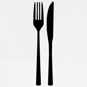 Messer Gabel - Spoon Fork T-Shirts - Baseballkappe