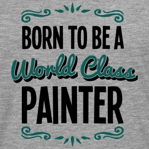 painter born to be world class 2col - Men's Premium Longsleeve Shirt