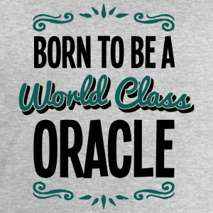 oracle born to be world class 2col - Men's Sweatshirt by Stanley & Stella