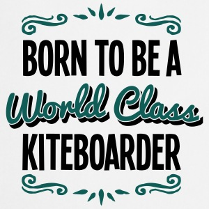 kiteboarder born to be world class 2col - Cooking Apron