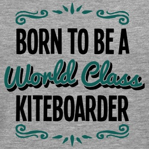 kiteboarder born to be world class 2col - Men's Premium Longsleeve Shirt