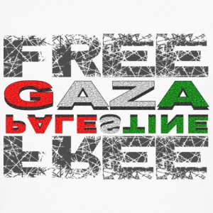 T-SHIRT FEMME FREE GAZA FREE PALESTINE - T-shirt manches longues Premium Homme