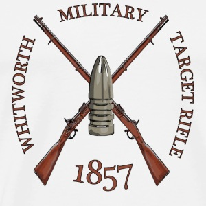 MILITARY TARGET RIFLE Mugs & Drinkware - Men's Premium T-Shirt