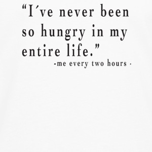I´ve never been so hungry Tops - Männer Premium Langarmshirt