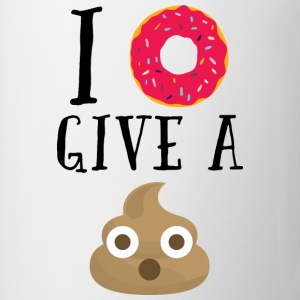 Donut Give A Sh*t Funny Quote  Tops - Mok