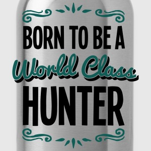 hunter born to be world class 2col - Water Bottle