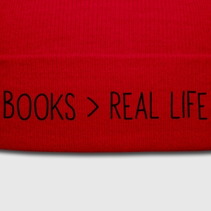 Books are greater than real life T-Shirts - Winter Hat