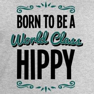 hippy born to be world class 2col - Men's Sweatshirt by Stanley & Stella