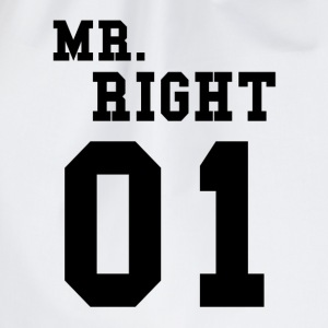 MR. RIGHT! (Partner shirt 2of2) Sweaters - Gymtas