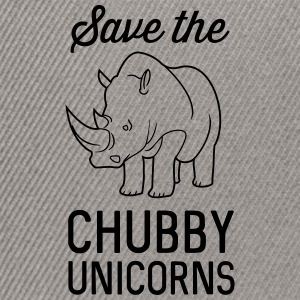Save the chubby unicorns T-Shirts - Snapback Cap