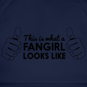 This is what a fangirl looks like T-Shirts - Baseball Cap