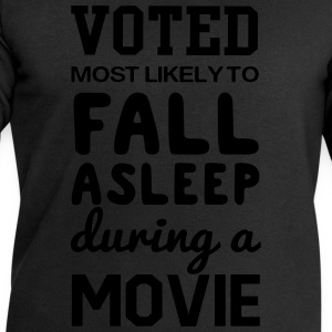 Voted most likely to fall asleep during a movie T-Shirts - Men's Sweatshirt by Stanley & Stella