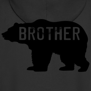 Brother Bear Shirts - Men's Premium Hooded Jacket