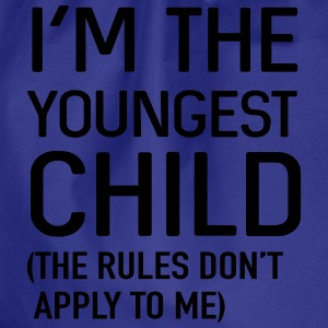 I'm the youngest child. No rules Shirts - Drawstring Bag