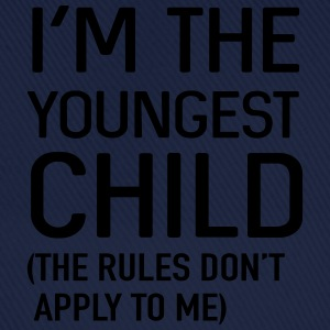 I'm the youngest child. No rules Shirts - Baseball Cap