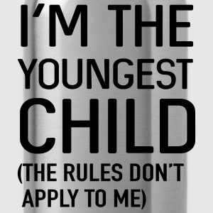 I'm the youngest child. No rules Shirts - Water Bottle