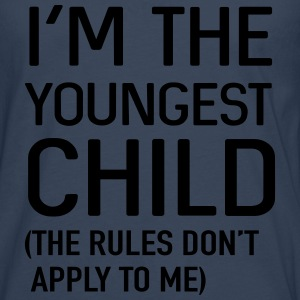 I'm the youngest child. No rules Shirts - Men's Premium Longsleeve Shirt