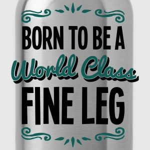 fine leg born to be world class 2col - Water Bottle