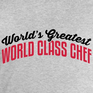 worlds greatest world class chef 2col co - Men's Sweatshirt by Stanley & Stella