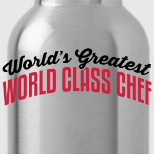 worlds greatest world class chef 2col co - Water Bottle
