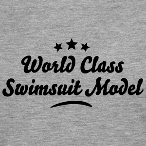 world class swimsuit model stars - Men's Premium Longsleeve Shirt