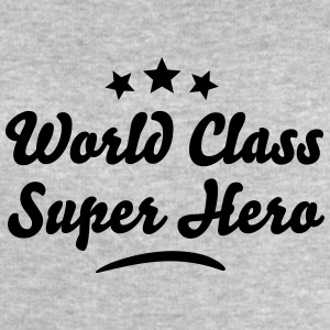 world class super hero stars - Men's Sweatshirt by Stanley & Stella