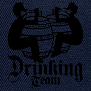 Drinking team friends team drinking beer barrel oc T-Shirts - Snapback Cap