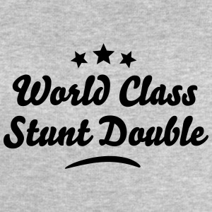 world class stunt double stars - Men's Sweatshirt by Stanley & Stella