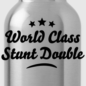 world class stunt double stars - Water Bottle