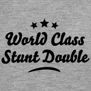 world class stunt double stars - Men's Premium Longsleeve Shirt