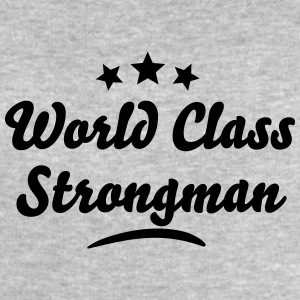 world class strongman stars - Men's Sweatshirt by Stanley & Stella