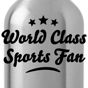 world class sports fan stars - Water Bottle